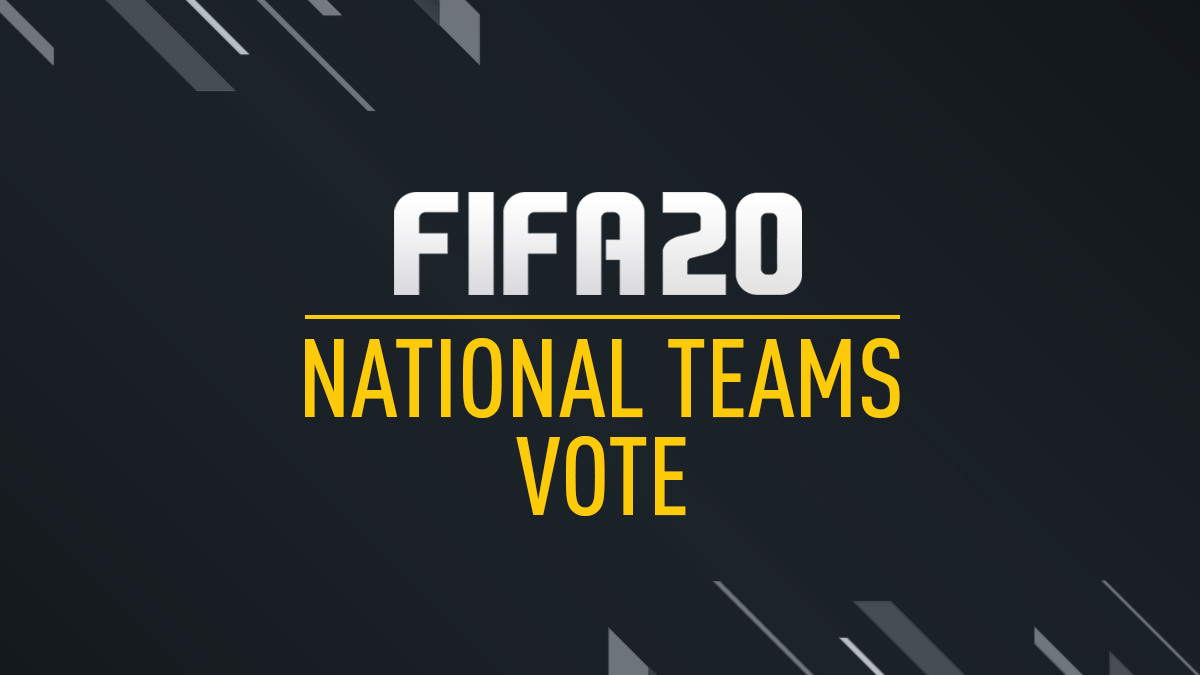 FIFA 20 international teams
